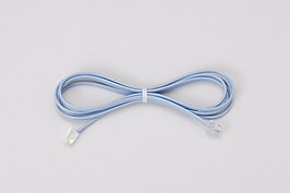 受話器コード(青)